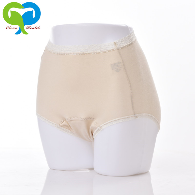 Lace Underwear For Woman Incontinence Panties Reusable Leak Proof Protective Briefs