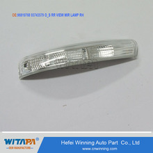 OEM quality auto spare parts by manufacture 96819768 93743579 view mirror light turn light for chevrolet captiva car
