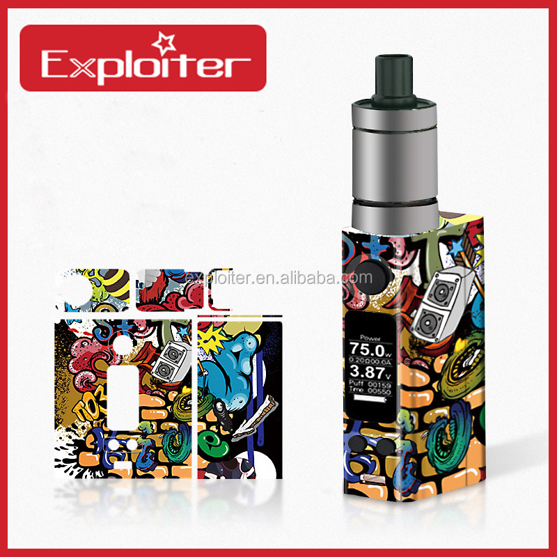 Amazing Vinyl Eco-Friendly Smoking Stick E Cigarette Cigar Skin for VT mini 2 75w