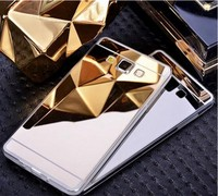 Mirror Electroplate Rose Gold Soft TPU +PC Case For iphone 6 Plating Metallic Skin
