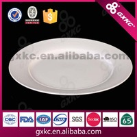 27cm new bone china ceramic flat plate suitable for microwave oven
