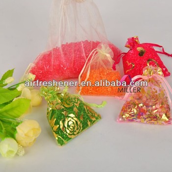 one dollar shop net bag scented sachet car air freshener