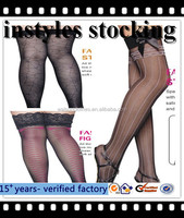 New Sexy Womens lingerie Lace Top Stay Up sexy in-tube fishnet stocking