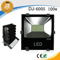 SMD led flood light with belt buckle , special slim shape, led flood light company outlet DJ-6005 100w