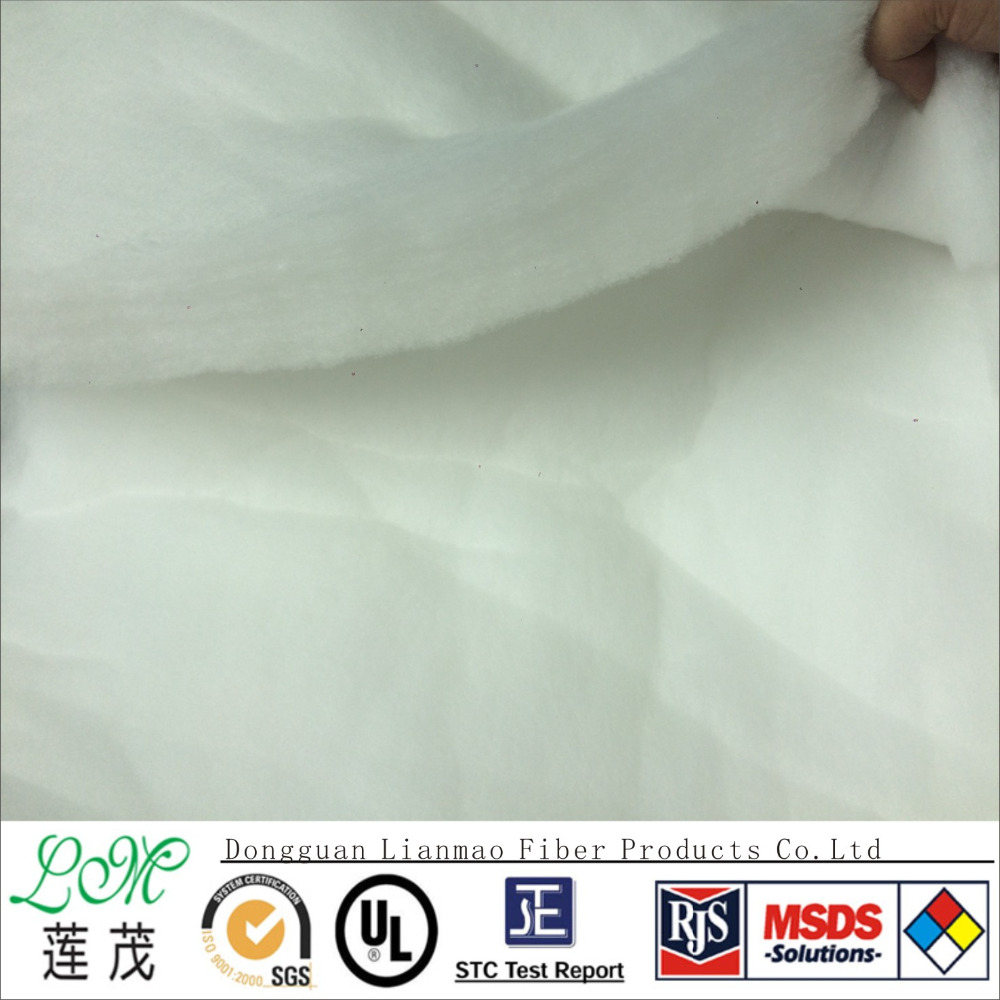 Wholesale Eco friendly original fiber polyester/cotton/wool padding quilt stuffing