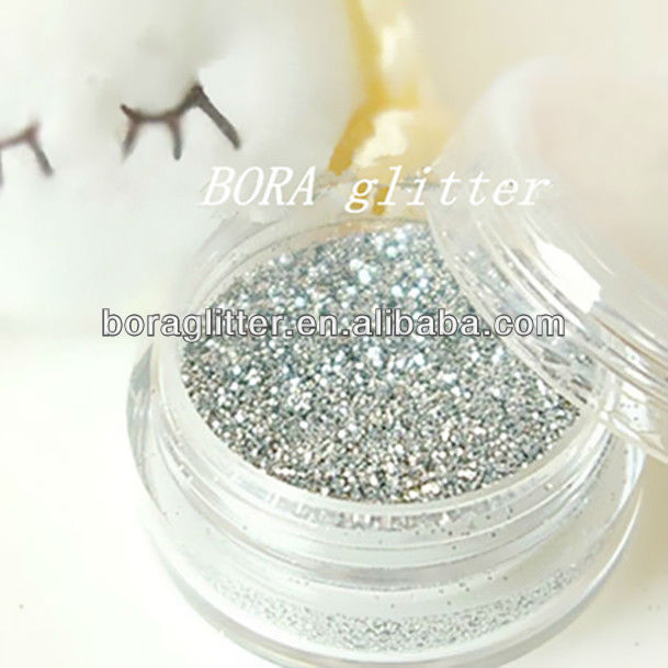 High Pure Silver Glitter for outdoor use