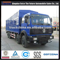 BEIBEN 8X4 cargo Transporter 30 ton lorry truck for sales