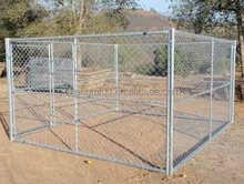 wholesale galvanized wire mesh chain link dog kennel low price