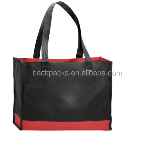 Personalized Color band Carry-All Tote Bags