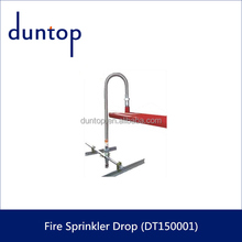 Stainless Steel Flexible Fire Sprinkler Drops