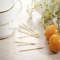 2016 Wholesale Christmas Decorative Disposable Wooden Toothpick