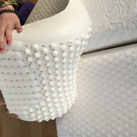 Custom pillow bed pillow Latex foam pillow with cheap price good quality for massage use