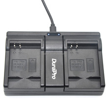 New DuraPro NB-6L USB Dual Charger for Canon IXUS 310 SX275 SX280 SX510 200 105 210 300 S90 S95 SD1300 SD1200 SX240 HS SX500 IS