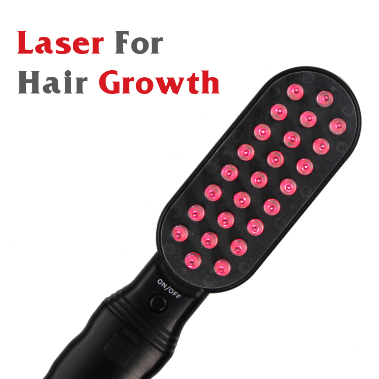 VT-128 Top Sale Battery Operated Electric Laser Hair Growth Comb
