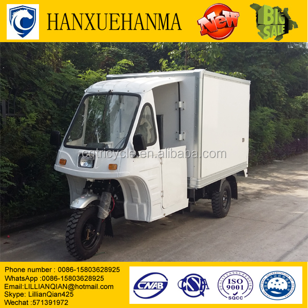 tuk tuk for sale petrol/three wheel cargo truck/tricycle cargo bike