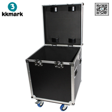 KKMARK used Half Trunk Utility Flight Road Case with Wheels Casters