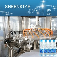 CE standard bottled water manufacturing equipment