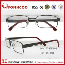 FONHCOO New Arrival Fashion Cheap Metal Alloy Eyeglass Optical Frame For Women