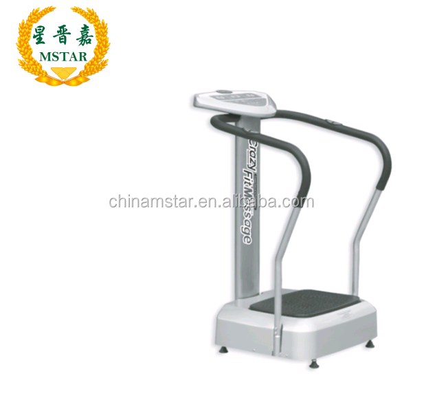 Body Slimming Vibration Plate/fitness exercise Ultrathin Vibration Plate Machine with CE crazy fit massage