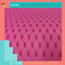elastic breathable polyester mesh fabric for running shoes