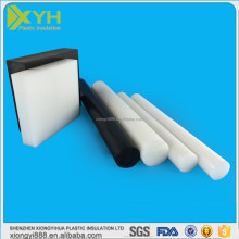 POM/PTFE/PU/HDPE/LDPE/PP/PA/PVC/ABS etc engineering plastic sheet/rod/film