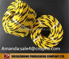 agricultural electric fence poly rope for grazing