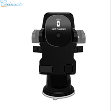 NEW DESIGN Infrared Induction QI wireless car charger with stand world cup theme wireless car charger