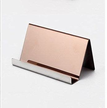 Plastic Business Card Holder Display for Women