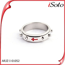 2012 best selling cheap products fashion jewelry titanium steel gear ring