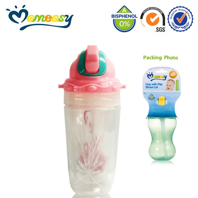 Cute travel baby water feeding bottle, empty water bottle