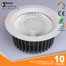 50W 60W High Power High Ceiling Recessed Round COB Led Downlights
