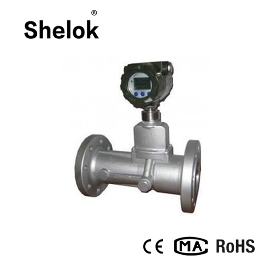 Digital magnetic liquid vortex flow meter transmitter