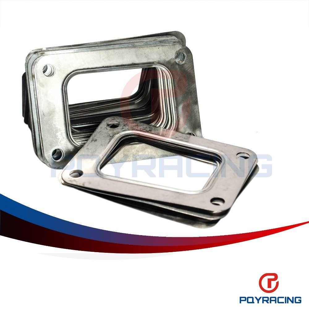 PQY STORE-T6 GT5533R GT5541R GT6041 Small Frame Diesel Turbo Inlet Stainless Steel GASKET PQY4816