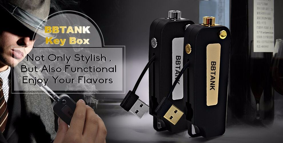 BBtank Flip vape pen battery push button battery for oil cartridge vaporizer