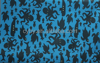 hot style waterproof nylon polyester fabric for umbrella with pu coating