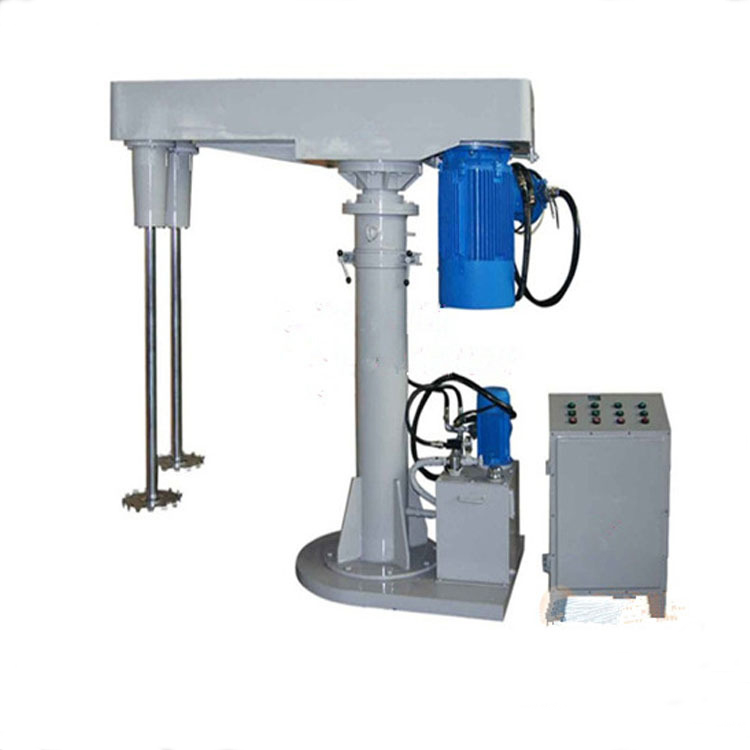 high speed disperser hydraulic lift dispersion industrial mixer for chemicals