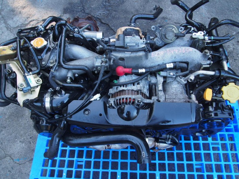 USED JDM turbo engine motor for 02-03 Impreza WRX Rev7 GGA GDA EJ20