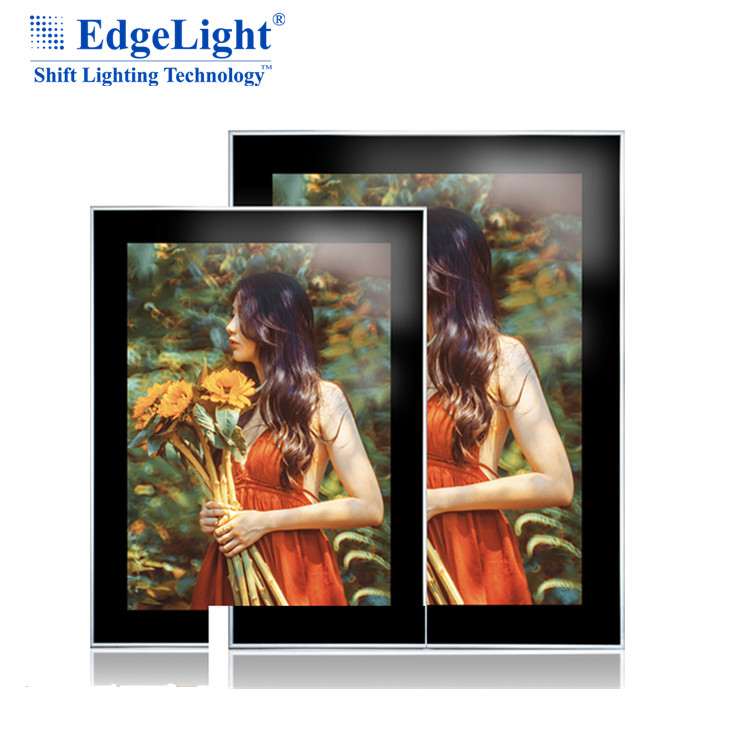 Magnetic Open LED Acrylic Ultra Thin Light Box for <strong>Advertisement</strong>