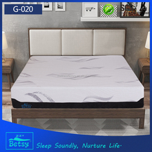 Compressed and customized full size mattress with gel memory foam and zipper cover that made in china