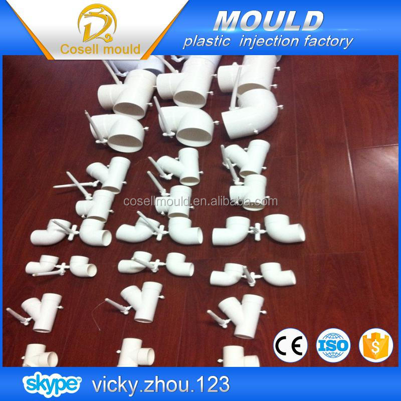 china huangyan injection pipe mould/zhejiang ppr copper plastic pipes mould/pp water pipe mould