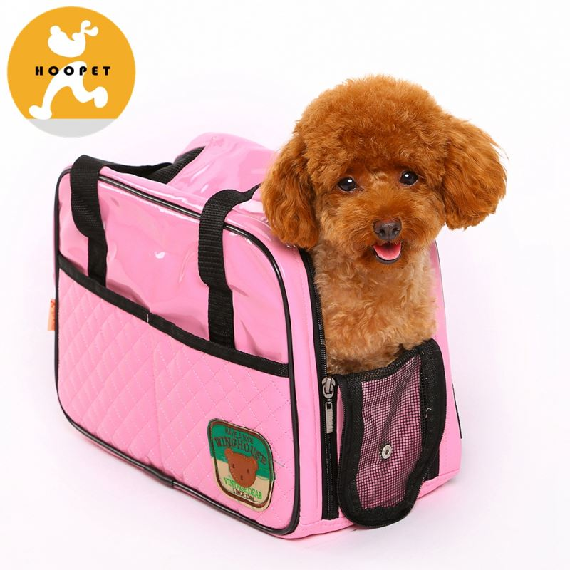 Shiny pu fashionable pet tote bag outdoor dog carrier bag pet products