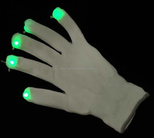 Wholesale High Quality Firework Party Favor LED Magic Gloves for Kids
