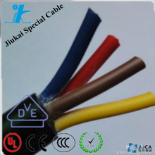 Oil Resistant H05VV5-F wire 4X1mm for woodworking