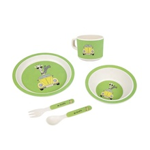 hot sale bamboo <strong>plates</strong> for kids baby bamboo bowl bamboo dinner set
