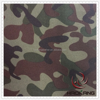 300d 600d Printing Camouflage Fabric