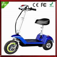 Portable 2 wheels Tourist Easy fold take electric scooter