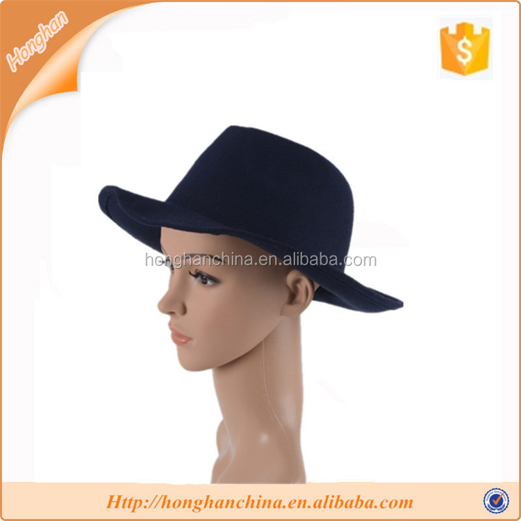 Trendy male and female fashion dress fedora hat