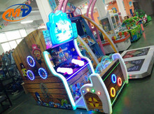 Newest popular water shooting game machine/ kids redemption game double players