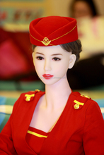 Wholsale Blow Up Full Size Sex Toy Silicone Doll Airline stewardess Inflatable Sex Doll