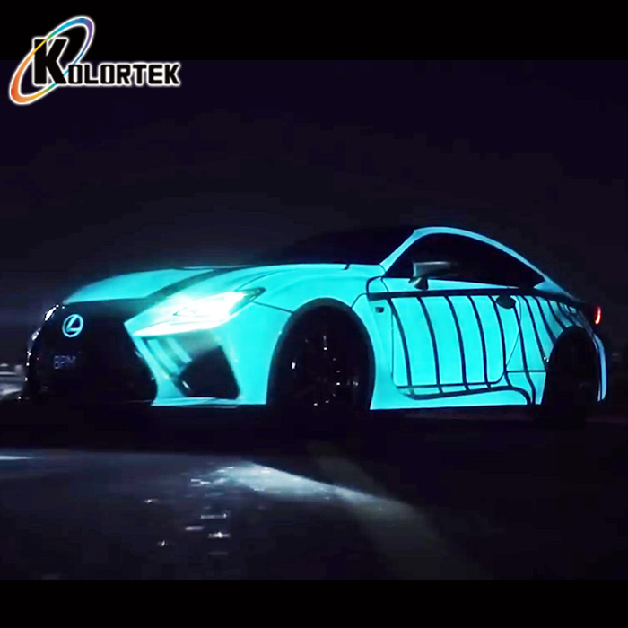 Car Paint Colors Glowing In The Dark Pigment Luminescent Powder Pigments